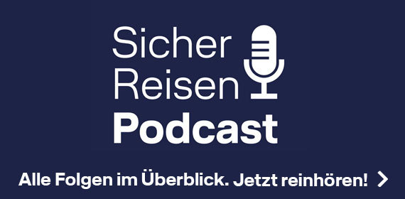 Sicher Reisen Podcast von Lufthansa City Center